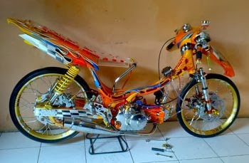 Gambar Modifikasi Motor Yamaha Jupiter Z 2005