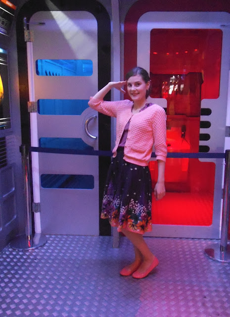 salute at leicester space centre via lovebirds vintage