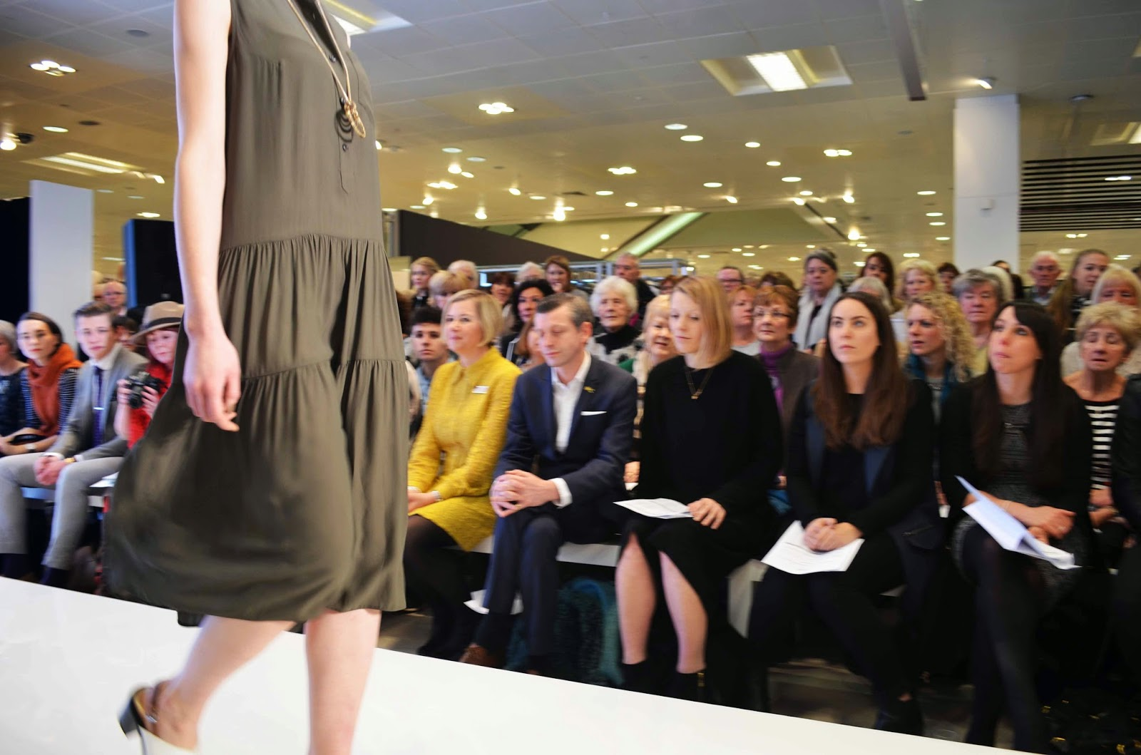 Marks and Spencer Fashion Show - Rock On Holly