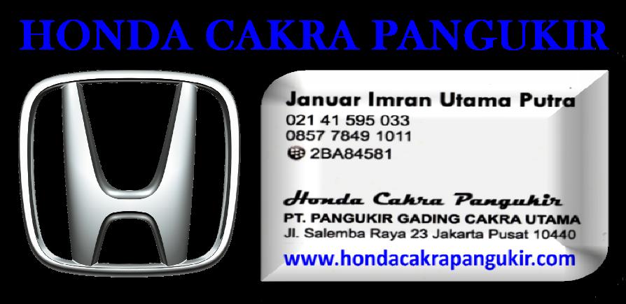 DEALER RESMI HONDA HR-V AREA JAKARTA PUSAT