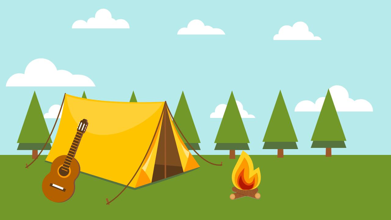 캠핑 PPT 소스 (PowerPoint Camping PowerPoint Source