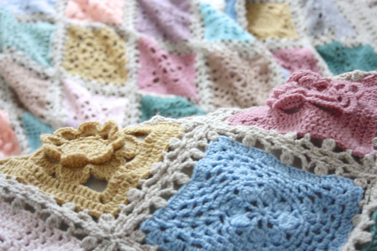 Vintage Sampler Blanket