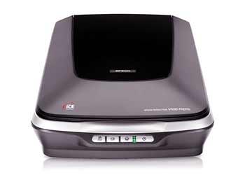 epson v500 scanner how to scan slides review