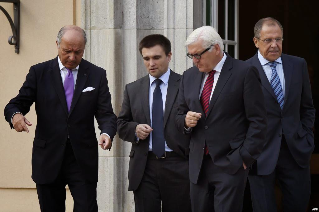Переговоры министров иностранных дел по урегулированию кризиса в Донбассе провалились