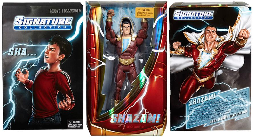 San Diego Comic Con 2013 Exclusive New 52 Shazam Action Figure Packaging