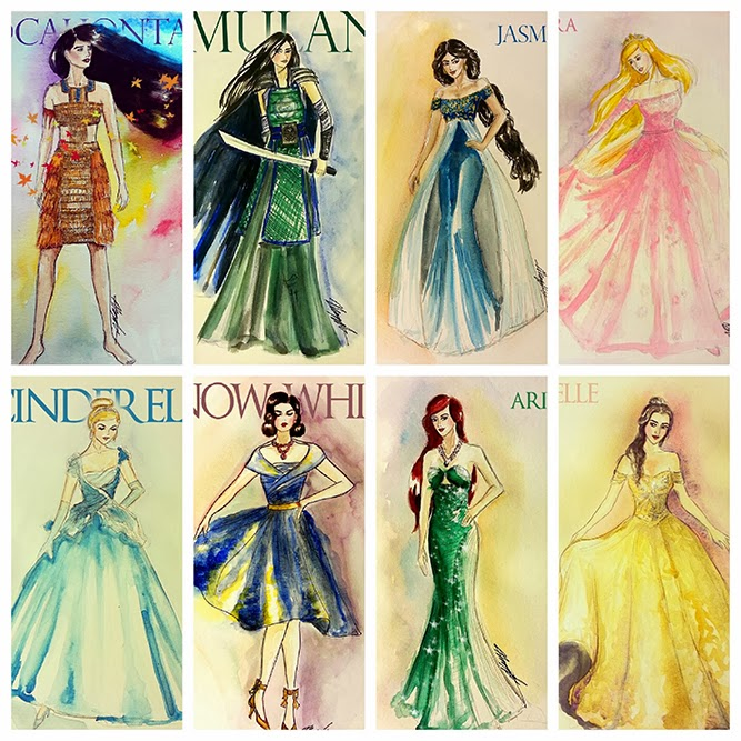 disney princess collection clothes to midnight