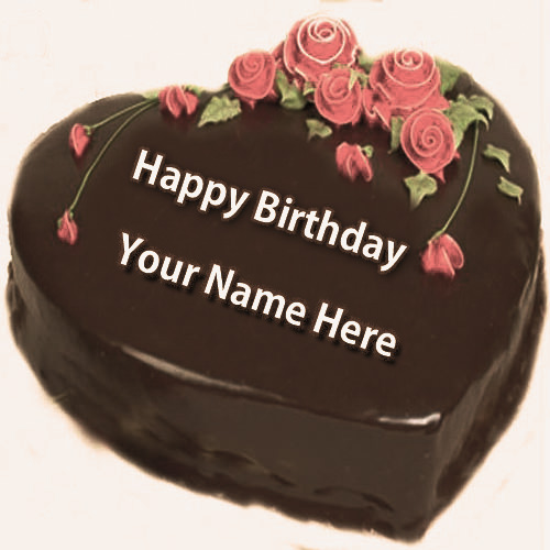 Free Special Happy Birthday Name Cake