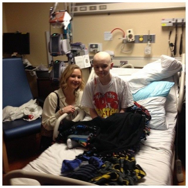 Thanks for your Christmas moment, the 24-year-old spent the holly day with many Childrens at Kosair Hospital at Louisville.