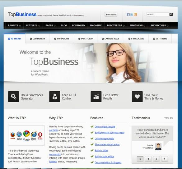 Template untuk Company Profile
