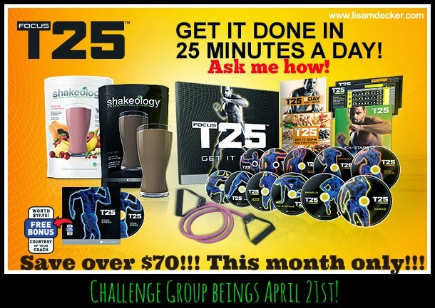 Beachbody April 2014 Promotion