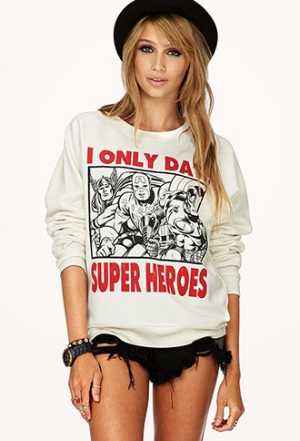 I Only Date Superheroes TShirt