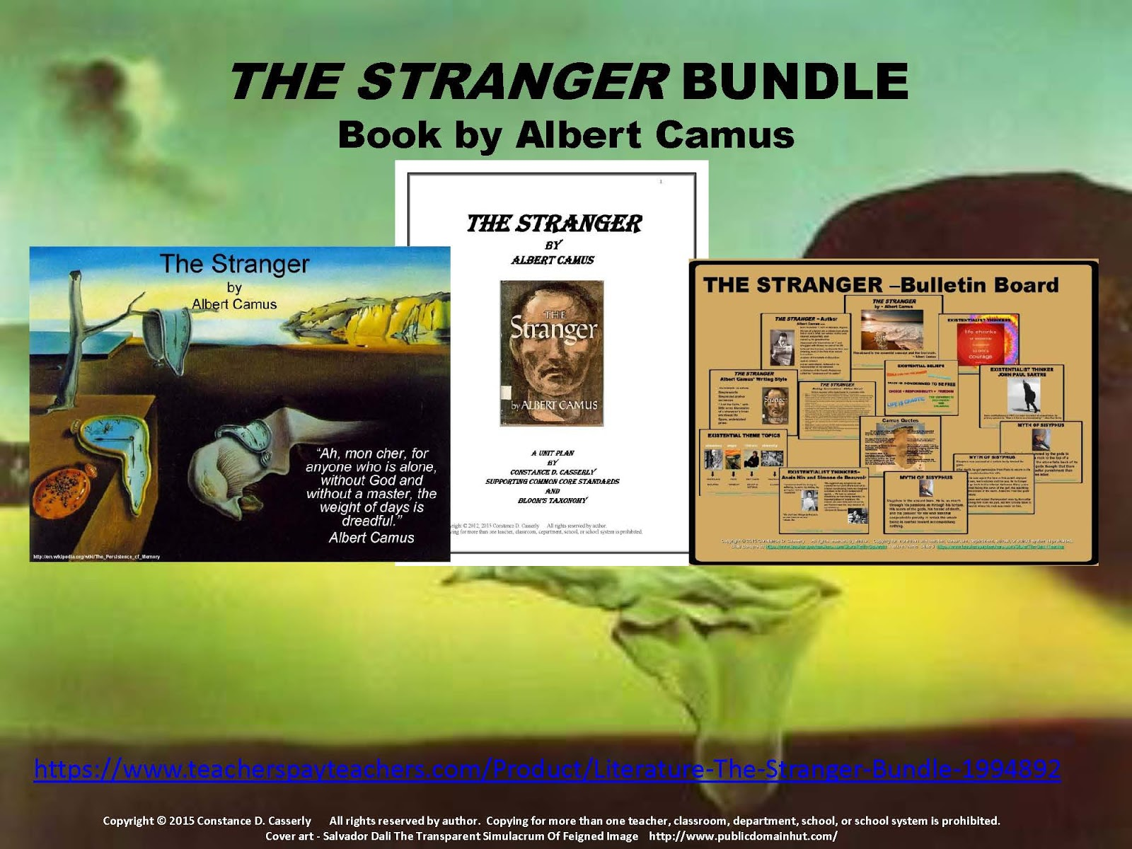 teach it write english teachers the stranger bundle offers a the stranger bundle