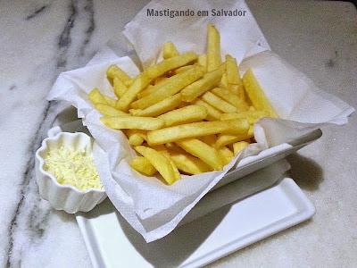 Acqua Café: Porção de Batatas Fritas
