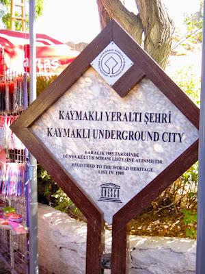 Kaymakli Underground City Cappadocia Turkey