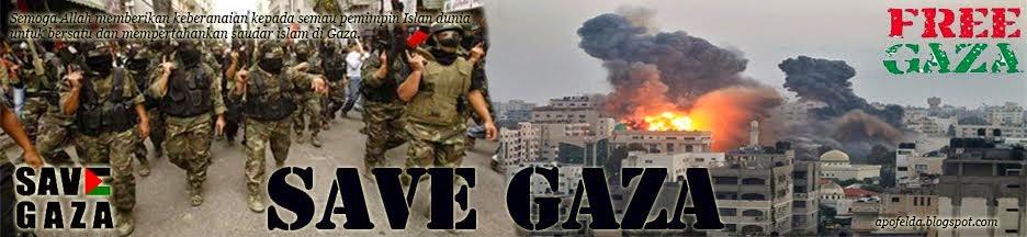 Seluruh negara Islam seunia bersatu mempertahankan Gaza