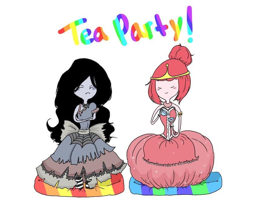 Hora de aventura fiona y cake