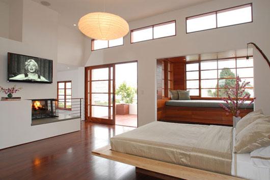 Decoracion Oriental Japonesa ~ Lindo dormitorio matrimonial con tintes japoneses tanto en la