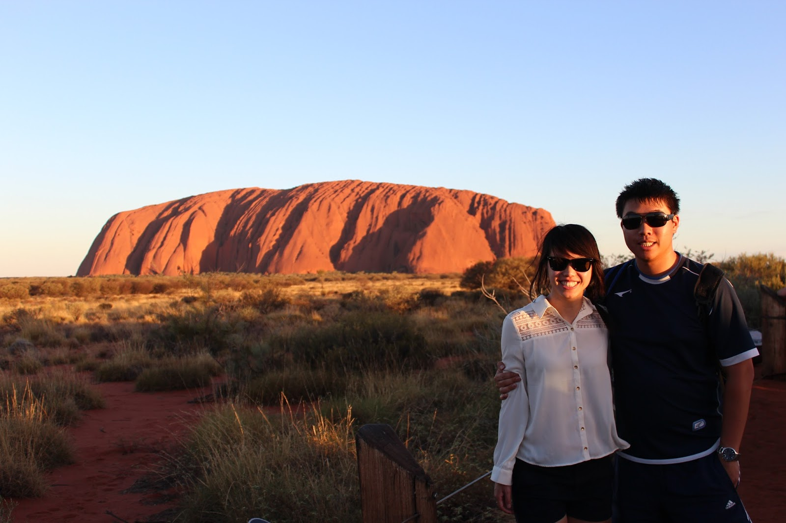 Food Is Our Religion Uluru Ayers Rock Northern Territory