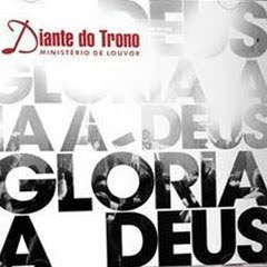 Capa do CD CD Diante do Trono – Glória a Deus