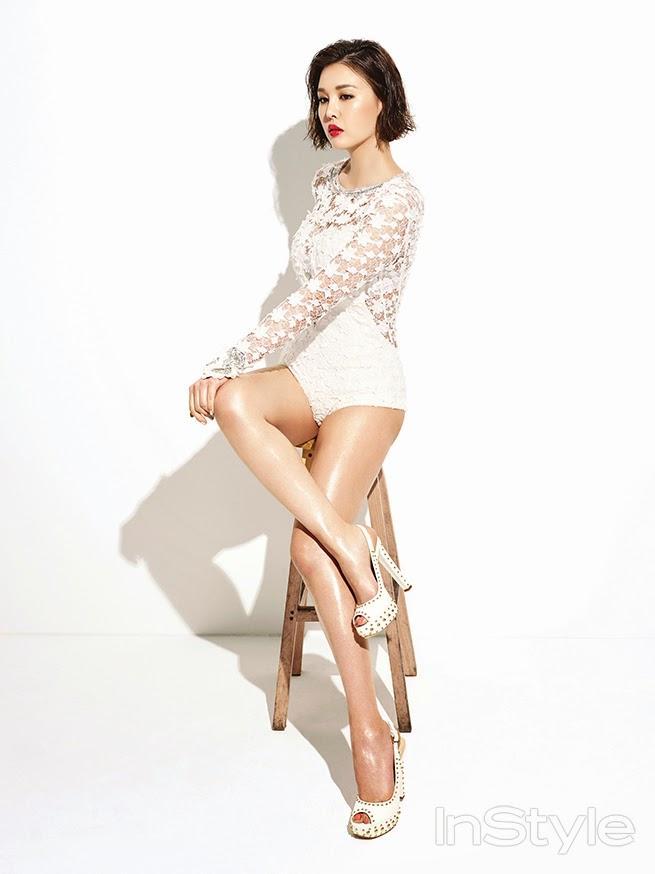 Park Eun Ji - InStyle June 2014