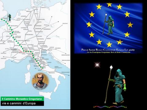 I Cammini Religiosi Europei verso Roma