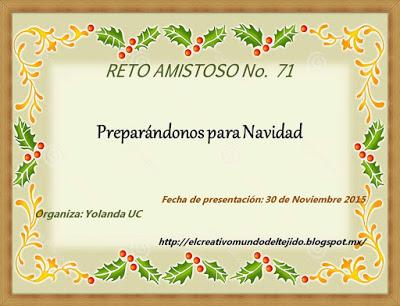 RETO AMISTOSO 71