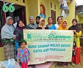 Bank Sampah Melati Bersih Griya Asri Pamulang Bakti Jaya Setu Tangerang Selatan