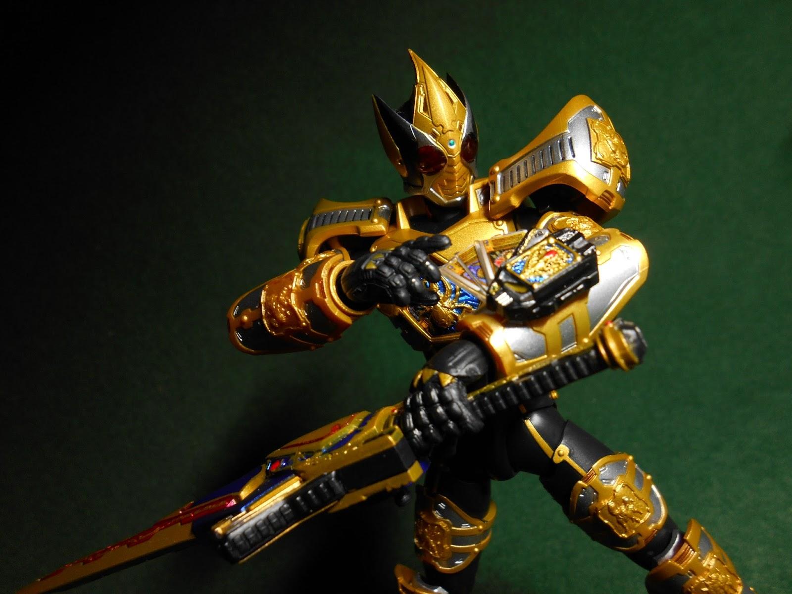 Review: S.H.Figuarts Kamen Rider Blade King Form   Night's Corner