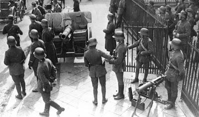 Brigade  Erhardt  di Berlin pada peristiwa the Kapp Putsch (1920)