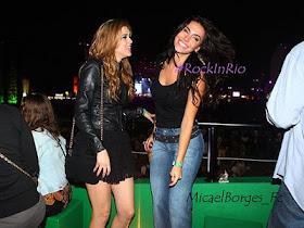 Rock in Rio, Sophia Abrahão, Melanie Fronckowiak, Micael Borges