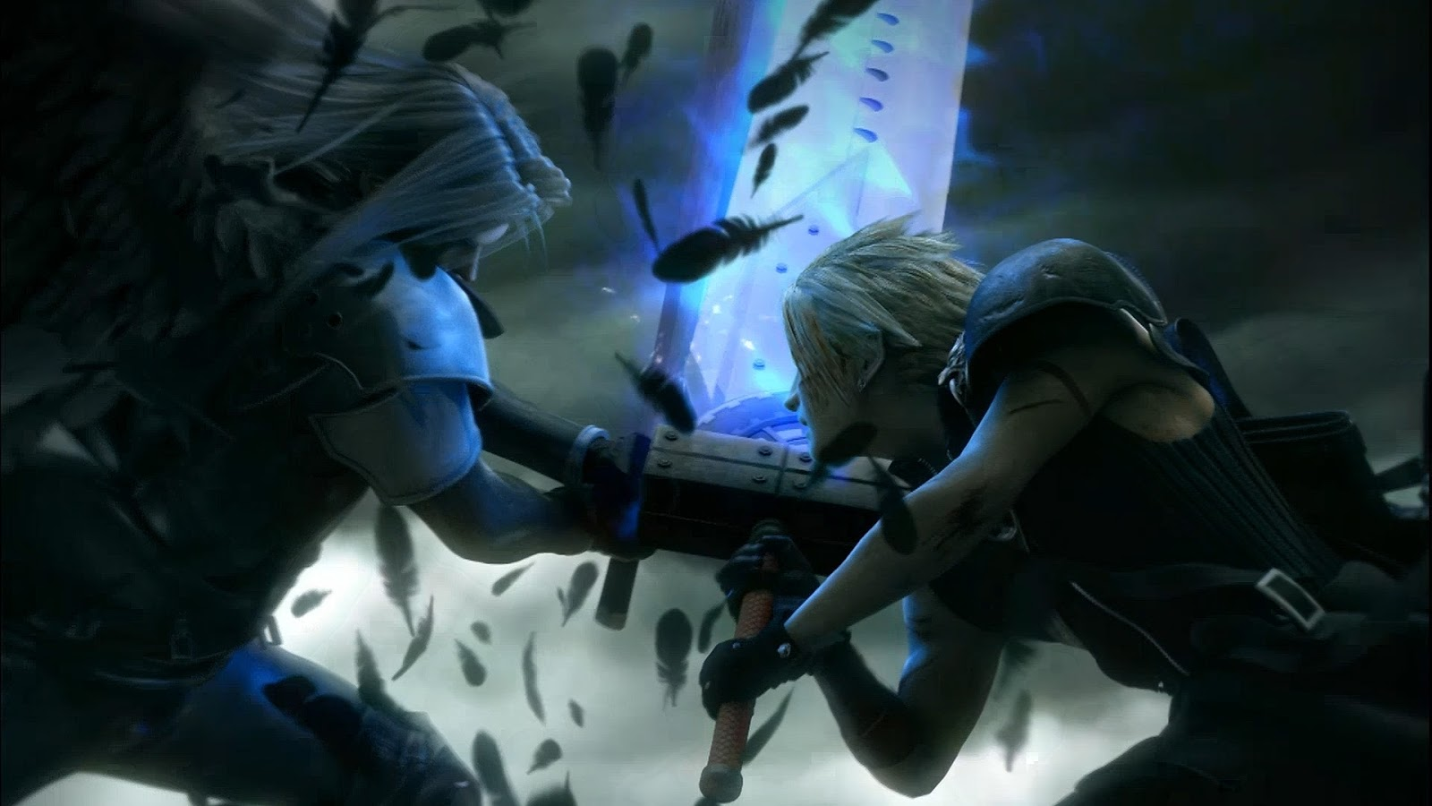 Final Fantasy VII Advent Children: Sephiroth vs Cloud Strife