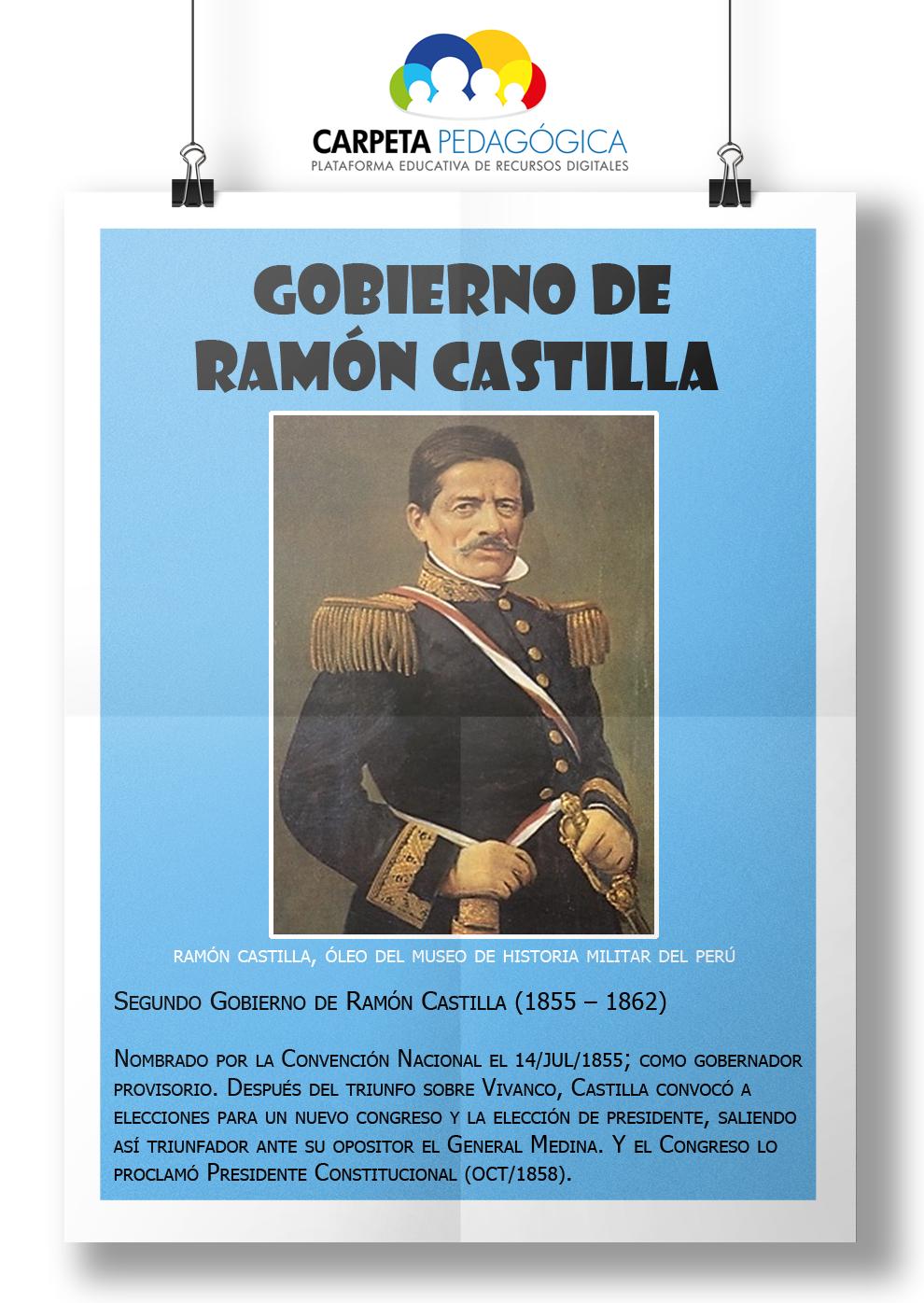 Segundo Gobierno de Ramón Castilla (1855 �C 1862)