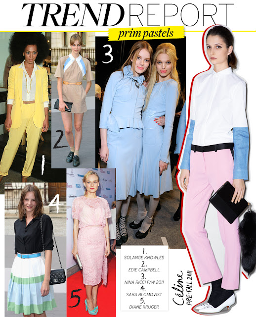 pastel clothing fashion trend 2012