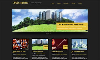Submarine WordPress Theme