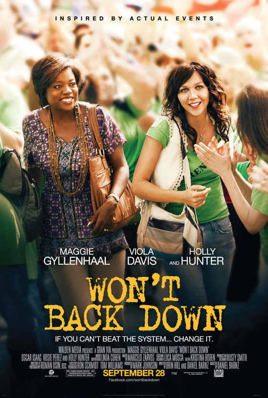 Watch Won't Back Down Movie Online Free 2012