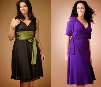 Model Baju Wanita Bertubuh Gemuk Agar Terlihat Langsing