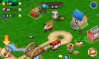 Screenshots of the Farm resort for Android tablet, phone.