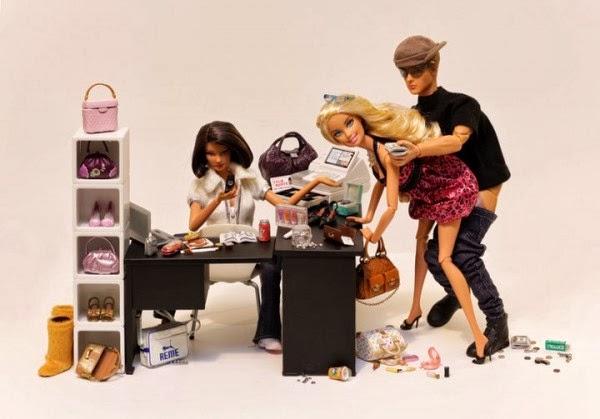"Ensaio ""Dolls"" da fotógrafa Mariel Clayton"