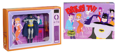 "Mattel 1966 Batman TV Show - Comic-Con SDCC 2013 Exclusive ""Batusi"" Set"