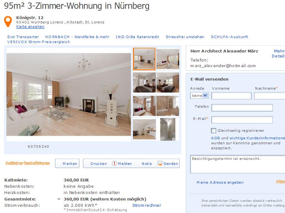 15 dezember 2012 for 4 zimmer wohnung in nurnberg