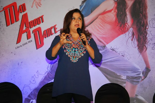 Farah Khan at her movie Mad About Dance Official trailer launch event