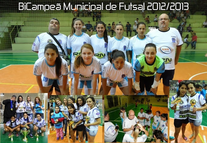 BI CAMPEÃ MUNICIPAL DE FUTSAL ANO 2013