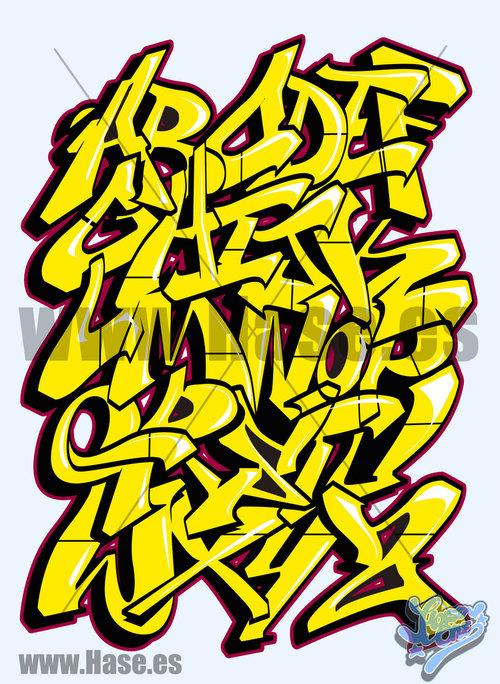 Letras De Graffiti Abecedario
