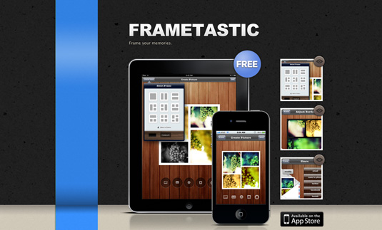 Frametastic app for iphone 5