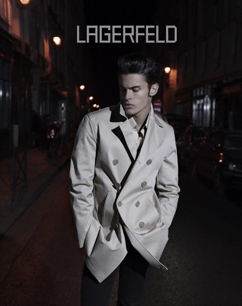 karl lagerfeld boyfriend. model baptiste Baptiste