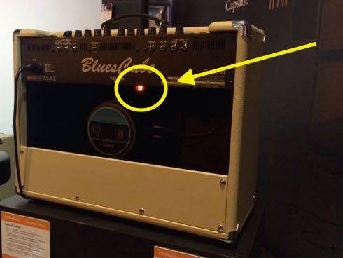 Roland Blues Cube amplifier image