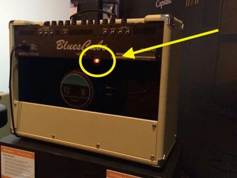 Roland Blues Cube amplifier image