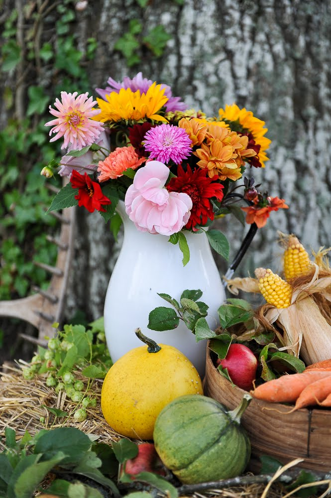 BLOMMIG INSPIRATION FRÅN VÅRT LILLA PROJEKT FLOWERS