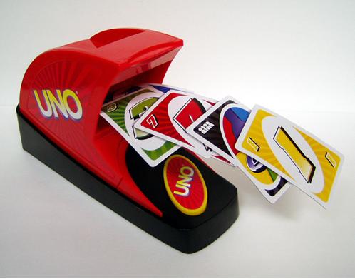 uno card machine