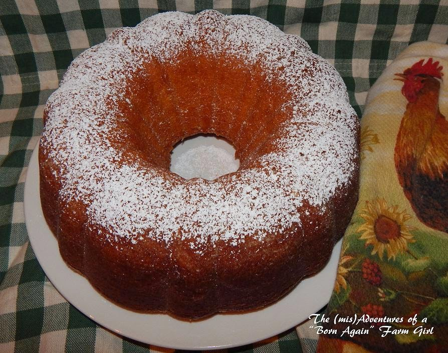 "The (mis)Adventures of a ""Born Again"" Farm Girl: Perfect Pound Cake"